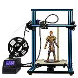 Impresora 3D Creality CR-10 - HICTOP Kit de bricolaje Prusa I3 Tamaño de impresión ensamblado 300x300x400mm