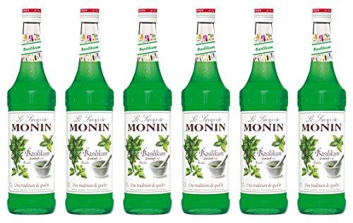 Monin Sirup Basilikum 0,7L 6er Pack