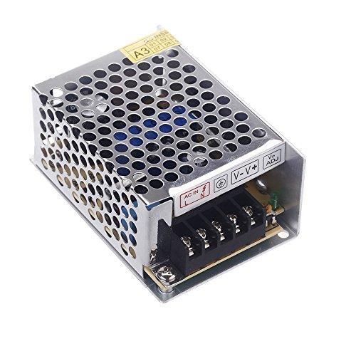 TOOGOO(R) Transformateur AC 100V 240V a DC 5V 5A 25W Transformateur de Tension Commutateur Alimentation pour Bande de LED