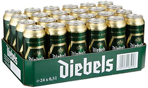 Diebels Altbier Dosenbier, EINWEG (24 x 0.5 l Dose), Alt Bier