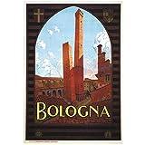 DNJKSA Italien Tourismus Reise Poster Bologna Classic