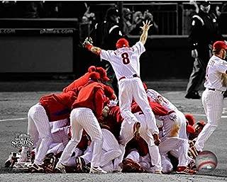 Philadelphia Phillies 2008 MLB World Series Team Spotlight Photo (Size: 8
