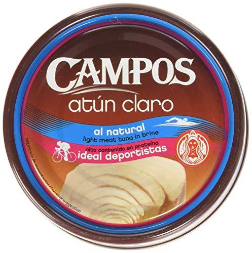 Campos, Conserva de atún claro al natural - 160 gr