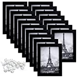 CLASSIC STYLE &MULTIPLE FRAMES :Bulk of 17 pieces picture frames set in the same sizes.Budget photo frame but can stand praise. EASY MOUNTING&MULTIPLE DISPLAY : Spring type action to remove the backing,can be hung horizontally or vertically,Includes ...