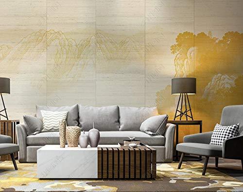 Fondo Mural 3D Paisaje De Tinta Abstracta Decorar El Dormitorio Del Papel Pintado Del Fondo De La Tv Del Hogar