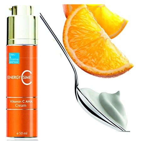 Crema Hidratante Aclarante y Anti Manchas con AHA y Vitamina C EnergyCssime 50 ml