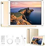 4G Tablet 10 Pollici Android 9.0 Tablet Google Certificazione GMS Quad-Core 32/128GB ROM 3GB RAM Tablet PC Dual SIM+Micro SD /8500mAh, WI-FI, Bluetooth, GPS, FM, Type-C, Netflix, Disney+, YouTube
