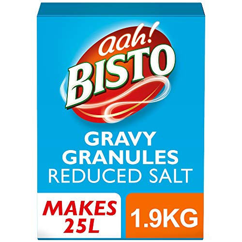 Bisto Reduced Salt Gravy Granules - Pack Size = 1x25ltr