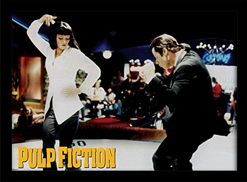 """Stampa incorniciata """"Pulp Fiction"""", 30 x 40 cm"""