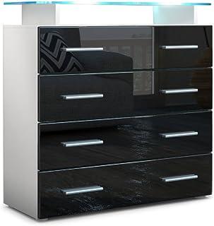Amazon.es: armarios negro dormitorio