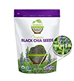 Wunder Basket Organic Chia Seeds, 3 LB Bag, Natural Raw Black Chia Seed Packed with Omega 3, Fiber, Protein, Vitamins, Minerals & Antioxidants, USDA Certified, Non-Gmo, Gluten-Free, Vegan, Keto-Friendly
