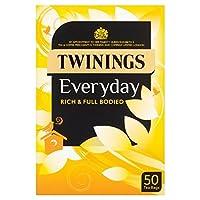 トワイニングパックあたりの日常50 (x 4) - Twinings Everyday 50 per pack (Pack of 4) [並行輸入品]