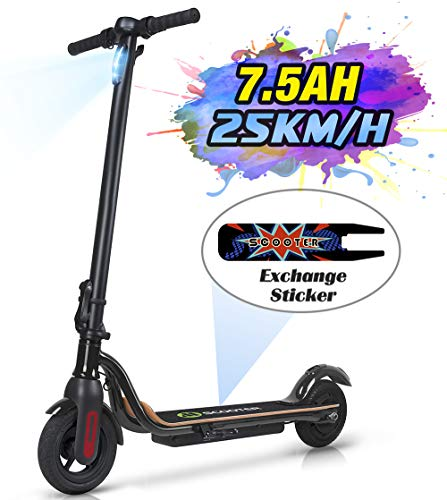 MEGAWHEELS S10 Electric Scooter, 22KM Long Range Battery, Up to 15.5 MPH, 8