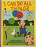 I Can Do All Things 1st Edition Book with Paint and Marker Cards
