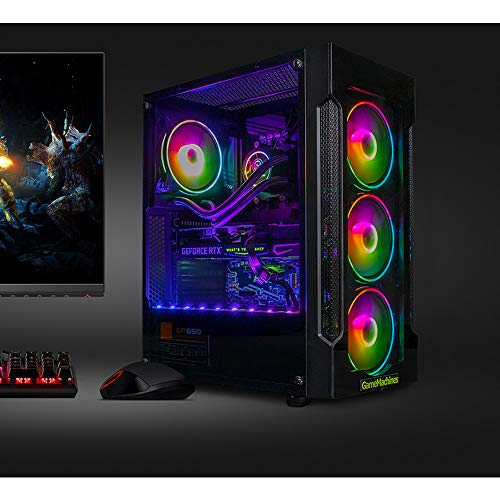 GameMachines Trinity - Gaming PC - Wasserkühlung - Intel® Core™ i7 10700F - NVIDIA GeForce RTX 3060-500GB SSD - 2TB Festplatte - 16GB DDR4 - WLAN - Windows 10 Pro