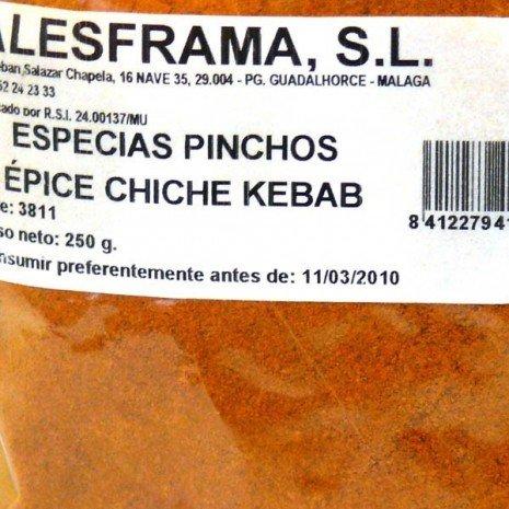 ESPECIAS KEBAB - bolsa 1/2 k