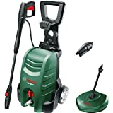 Bosch AQT 35-12 PLUS Electric Pressure Washer with Patio Cleaner 120 Bar 1500w 240v + FREE Alloy Wheel Cleaner, Cleaning Wax & Patio Cleaner Worth £21.85