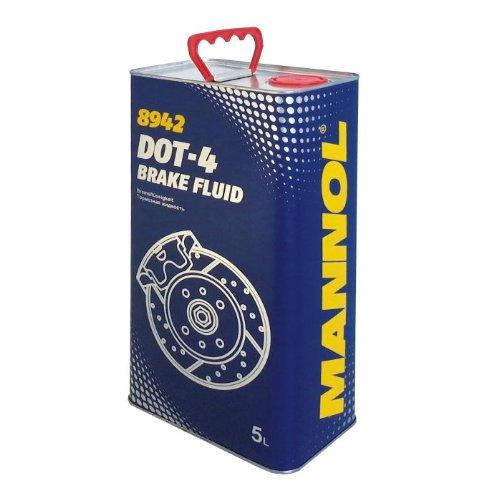 MANNOL Bremsflüssigkeit DOT-4 Brake Fluid 5L 8942