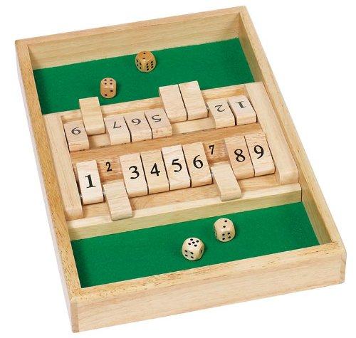 goki 56897 Doppelspiel Shut The Box