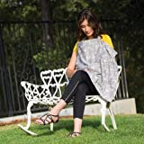 Product Image of the Bebe au Lait Premium Cotton Nursing Cover, Lightweight and Breathable Cotton,...