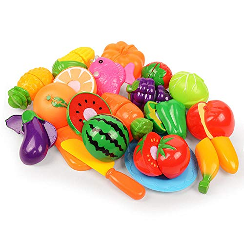 Lecimo en Plastique Cuisine Fruits LéGumes Couper Enfants Simulation Jeu ÉDucatif Jouet SéCurité Enfants Cuisine Jouets Ensembles, 1#