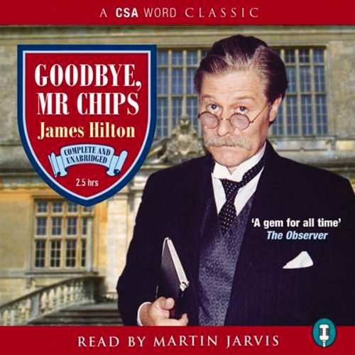 Goodbye Mr Chips audiobook cover art