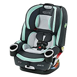 Graco 4Ever DLX 4 in 1 Car Seat | Infant to Toddler Car Seat, with 10 Years of Use, Pembroke,Graco,2078773,Car Seat
