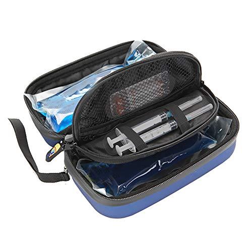 CX ECO Insulinkühltasche Insulinkühler Reisekoffer Isolierte Kühltasche Diabetiker Organisieren Medikation Schutz Outdoor Tragbare Medizinische Kühltasche