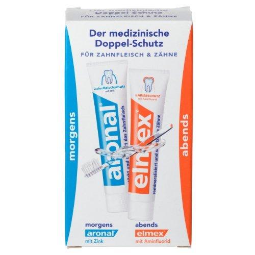 5Pack Elmex Reise-Zahnpasta Minituben-Set 5x 2x12ml