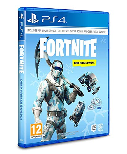 Fortnite: Deep Freeze Bundle - [PlayStation 4] PEGI uncut