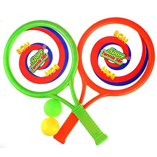 Riosupply - Raqueta de Tenis para niños, Multiusos, Juguete de Desarrollo de Inteligencia para Deportes al Aire Libre