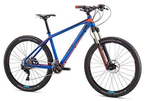 Great Deal! Mongoose Meteore Expert Mountain Bike 27.5 Wheel, Blue, 17.5 inch/Medium