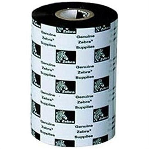 Zebra 3200Wax/Resin Band Farbbänder–-Signs (Zebra 2746e, Wärmeübertragung, Schwarz, 300m, 110mm x 300m)