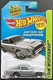 2014 Hot Wheels Hw Workshop - James Bond 007 Goldfinger Aston Martin 1963 DB5 - [Ships in a Box!]