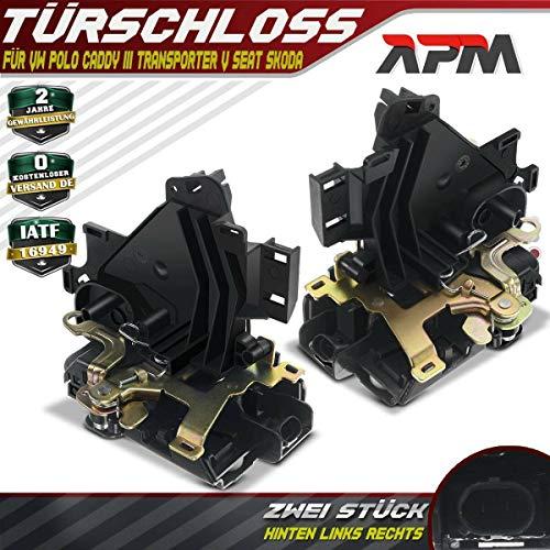 Deurslot servomotor achter voor Cordoba 6L2 Ibiza III 6L1 Fabia I 6Y Caddy III kast 2K Polo 9N 9A4 9A2 9N2 Transporter V Bus 1999-2015 3B4839015AJ