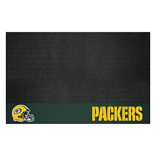 FANMATS NFL Green Bay Packers Vinyl Grill Mat