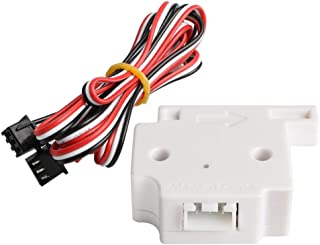BCZAMD 3D Printer Filament Detection Sensor Module Filament Run-Out Pause Detecting Monitor for 3D Printer Lerdge Board 1.75mm PLA ABS Filament, 1Pcs