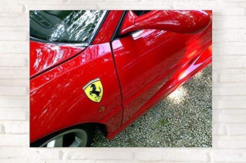 Jochen Schweizer Geschenkgutschein: (geeignet für) Ferrari selber Fahren & CEWE Fotoleinwand