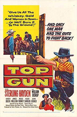 Top Gun - Authentic Original 27x41 Folded Movie Poster