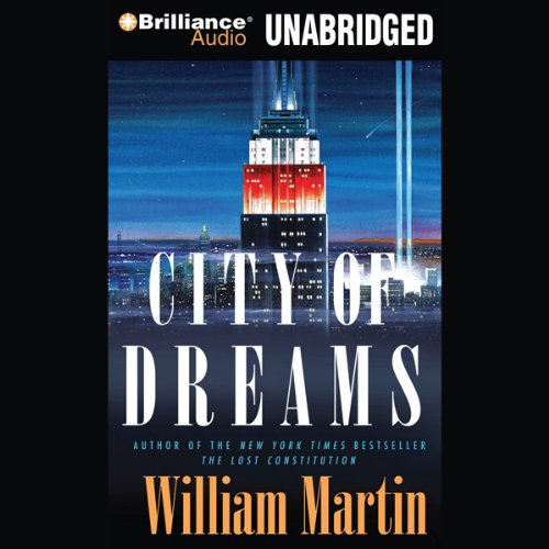 The City of Dreams audiobook cover art