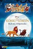 Disney Der König der Löwen: Die Geschichte von Simba (Buch mit 15 Spielteilen): Mit wieder ablösbaren und waschbaren Silikon-Stickern ohne Kleber!