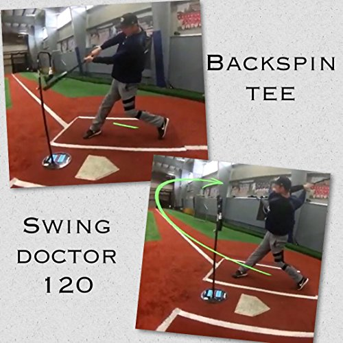 Backspin Baseball Tee AND Swing Doctor 120 (Pink, Backspin PRO Baseball Tee ONLY)