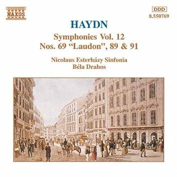 HAYDN: Symphonies, Vol. 12 (Nos. 69, 89, 91)