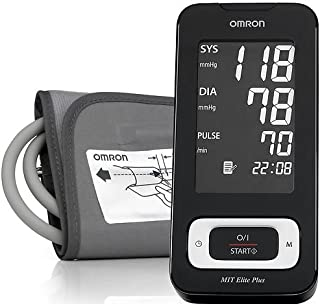 Omron MIT Elite Plus Fully Auto Upper Arm Blood Pressure Monitor Hem-7301 New Good Quality From United Kingdom Fast Shipping Ship Worldwide