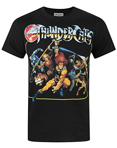 Official Thundercats Group Men's T-Shirt, Small Only