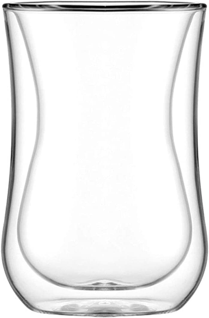 Cocktail Great interest Glasses Drinking Double Mugs outlet Wall Glass Thermo