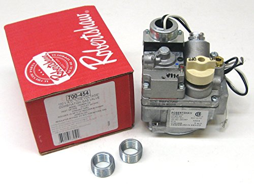 INVENSYS CONTROLS 700-454 Robertshaw Combination Gas Valve Conversion Kit, 120V, 3/4