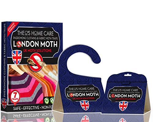Theo's Home Care 10 x MOTH KILLER TRAPS for Wardrobes and...