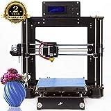 Impresora 3D A8 Prusa I3 DIY Desktop 3D Printer, Impresión rápida y de alta precisión de modelos 3D (120 mm/s), Impresora con 1.75 mm ABS/PLA (Impresora 3D A8)-Colorfish (I3)