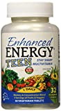 Enhanced Energy Teen Multivitamin (60 Vegetarian Tablets)